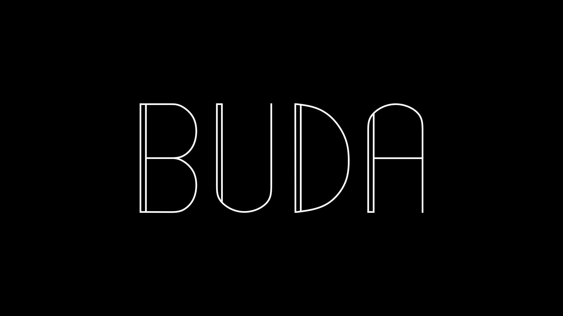 logotyp buda