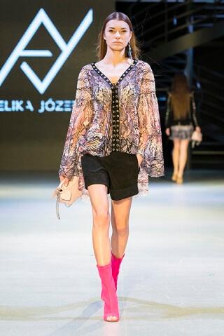 Łódzkie fashion show pokaz mody